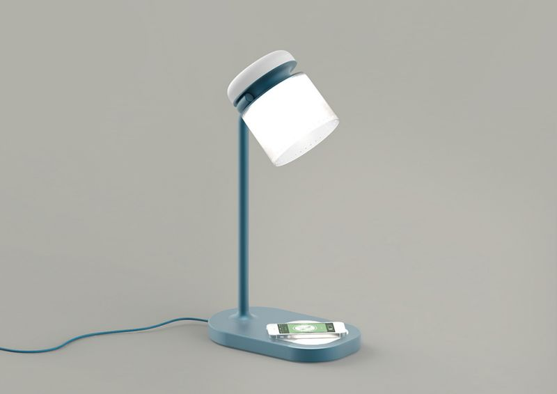 Smartphone-Surrendering Lamps