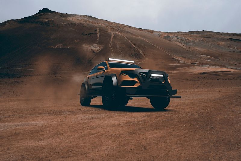 Off-Road Luxury Cars