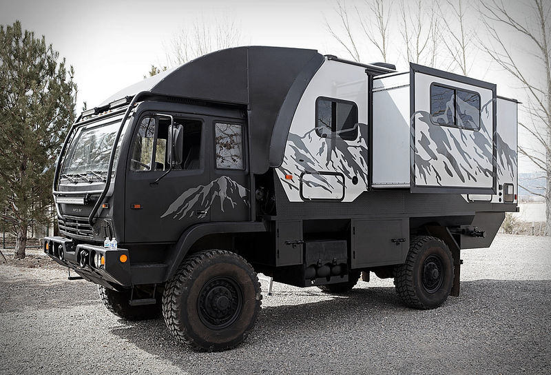 Rugged Off-Road Camping Vehicles