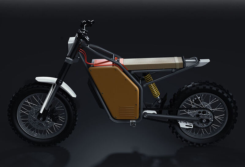 Minimalist Off-Road Electric Motorcycles