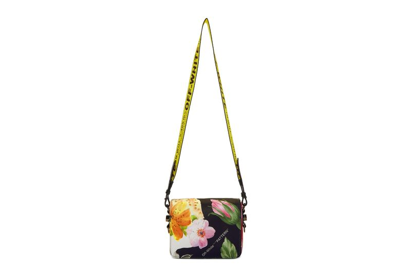 Industrial Floral-Clad Handbags