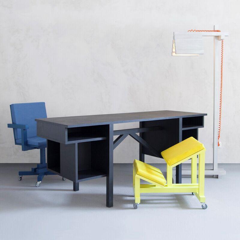 Playfully Blockish Office Furniture