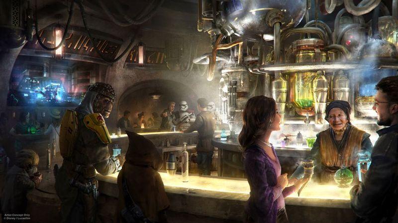 Intergalactic Theme Park Cantinas
