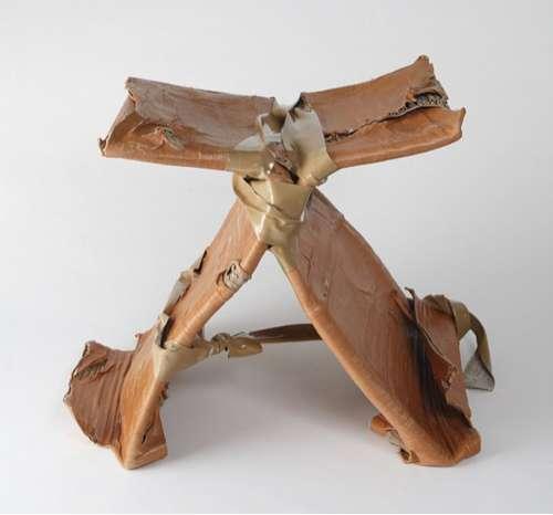 Taped Cardboard Stools