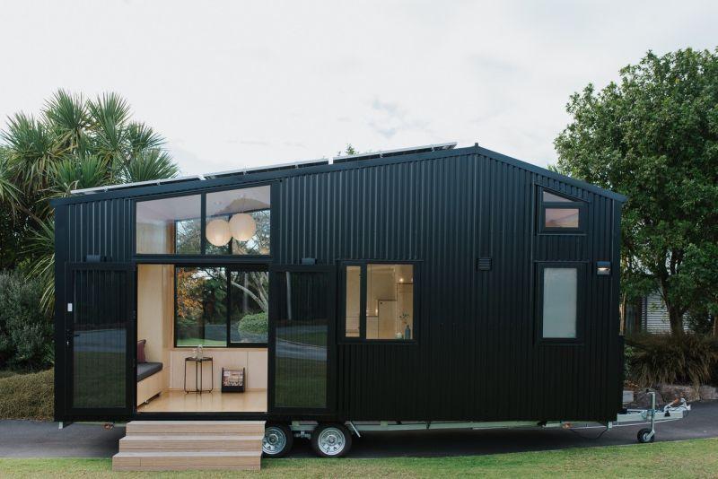 Net-Zero Emissions Tiny Homes