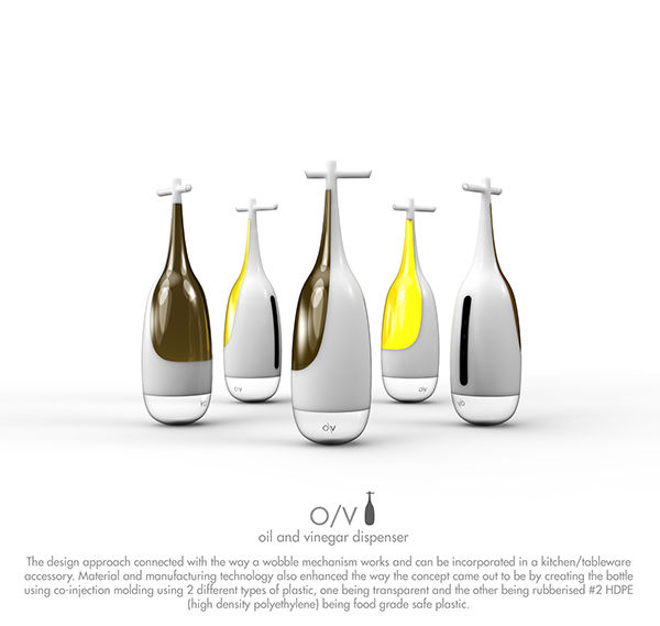 how to clean oil and vinegar bottles