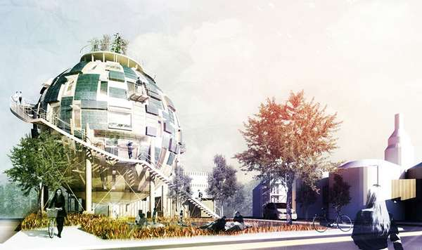 Spherical Repository Abodes
