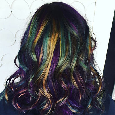 Oil Slick Hairstyles