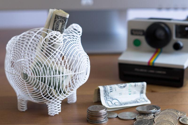 3D Printed Piggy Banks