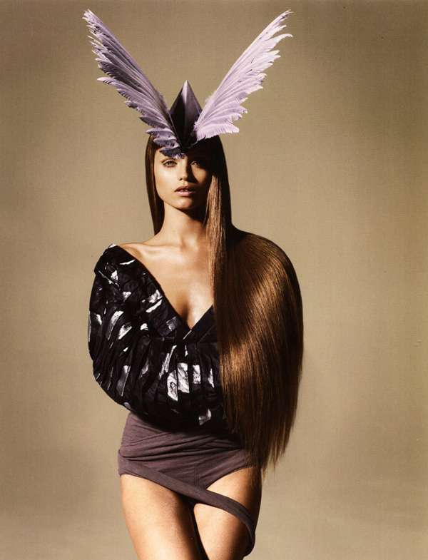 Funky Feathered Editorials