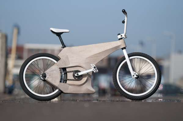 Classy Wooden Two-Wheelers