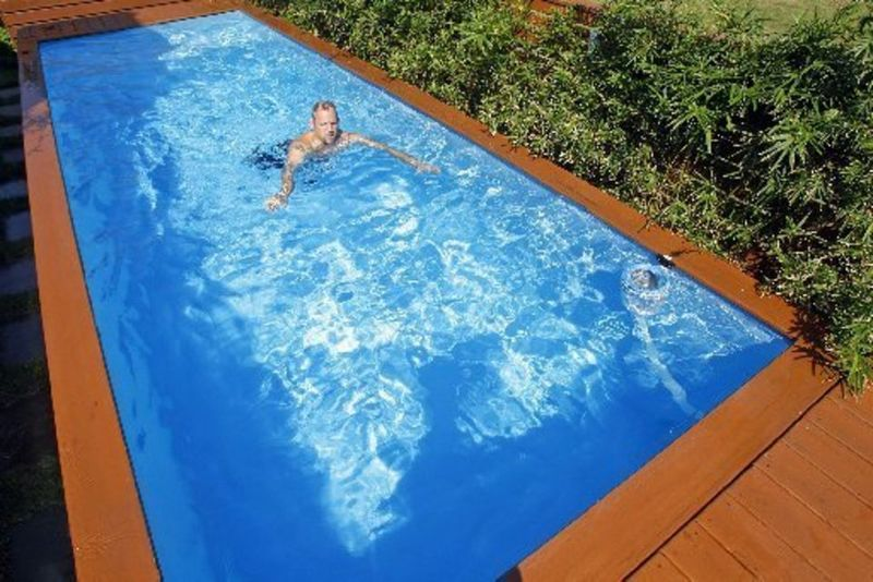 Waste Container Swimming Pools