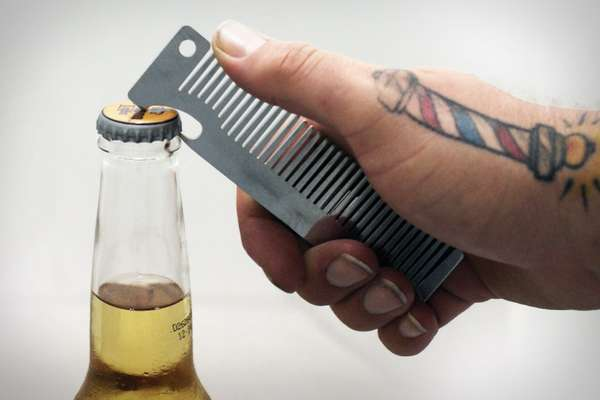 Hairbrush Beer Poppers