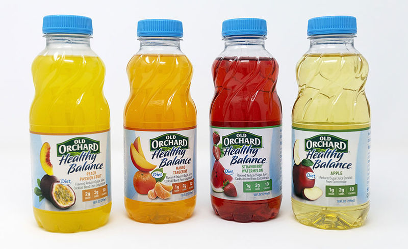 Single-Serve Low-Carb Juices