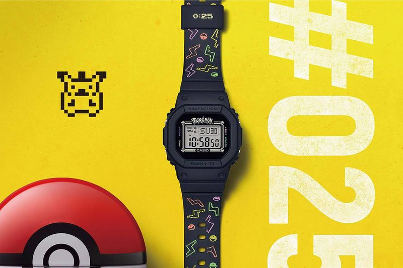 Celebratory Pokémon-Inspired Timepieces