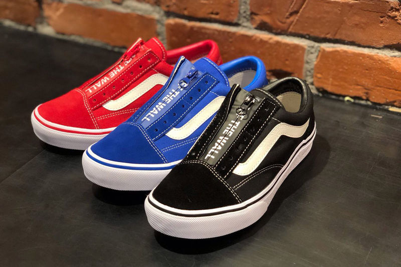 d3958d16f7 Zipper-Enclosed Casual Shoes   Old Skool DX Zip