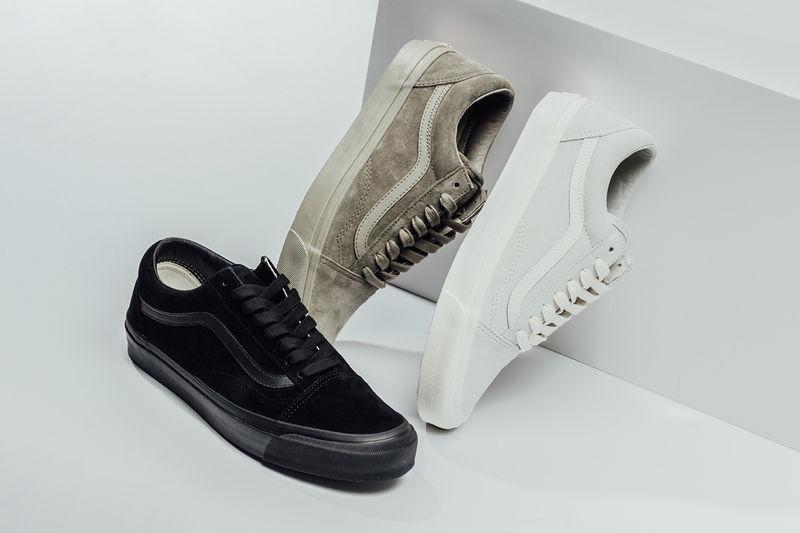 Soft Neutral Suede Sneakers : old skool lx