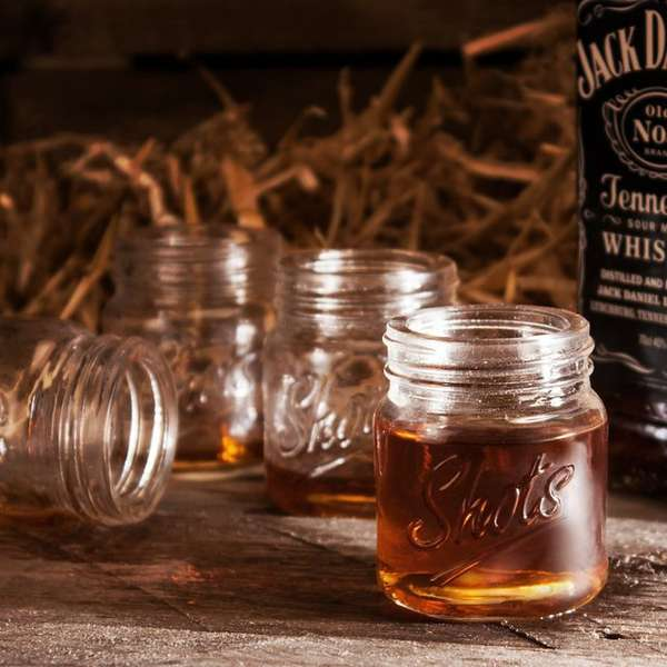 Miniature Mason Jar Shooters