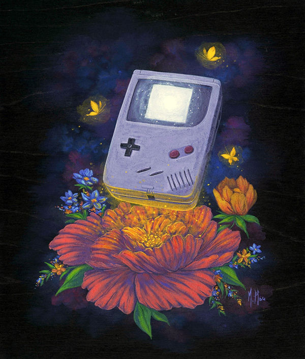 Nostalgia-Fueled Retro Paintings