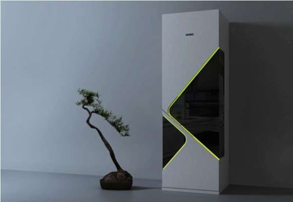Thin Transparent Fridges