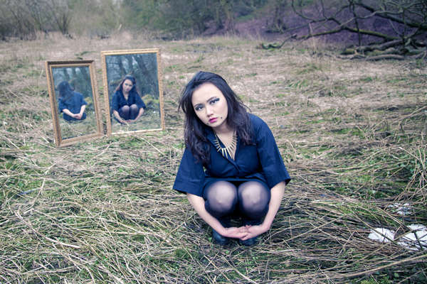 Gothic Reflection Photography