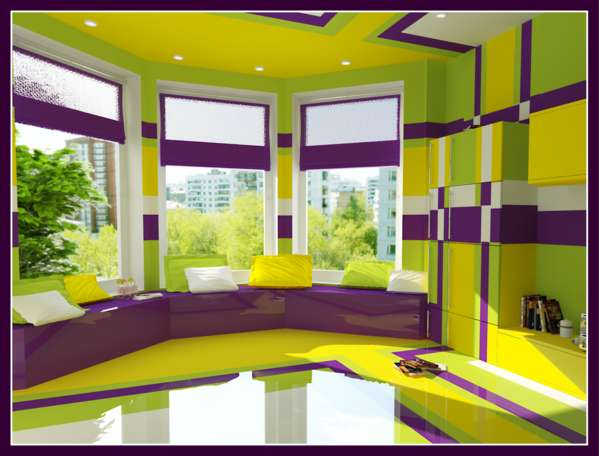 Captivating Psychedelic Bedrooms