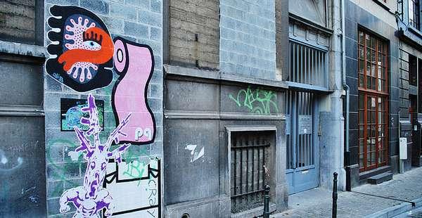 Colorfully Abstract Graffiti
