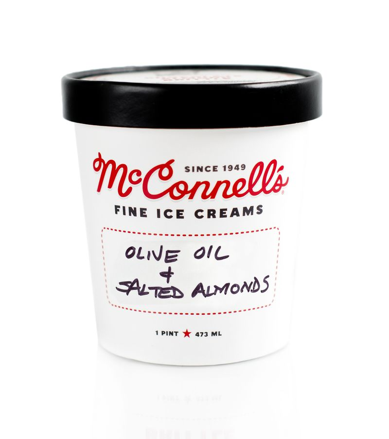 Nutty Olive Oil Ice Creams