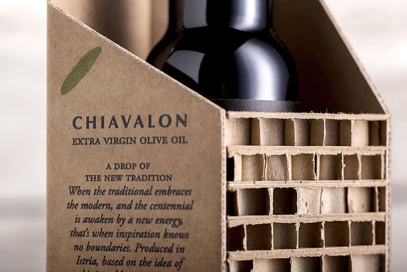 Architectural Olive Oil Packs