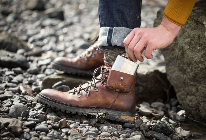 Flask-Infused Hiking Boots
