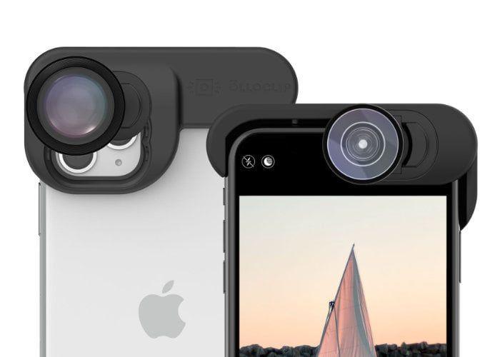 Pro-Grade Smartphone Photo Lenses - The Olloclip iPhone 11 Pro Max ElitePack Maximizes Capabilities (TrendHunter.com)