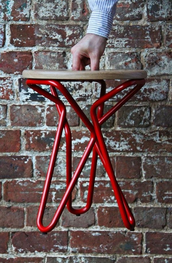 Abstract Tri-Symmetric Stools