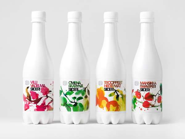 Splattered Beverage Branding