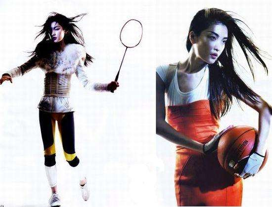 Olympic Fashion Spreads