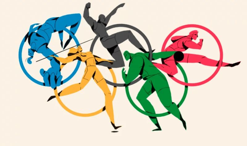 Olympic Logo Animations Olympic Logo Animation