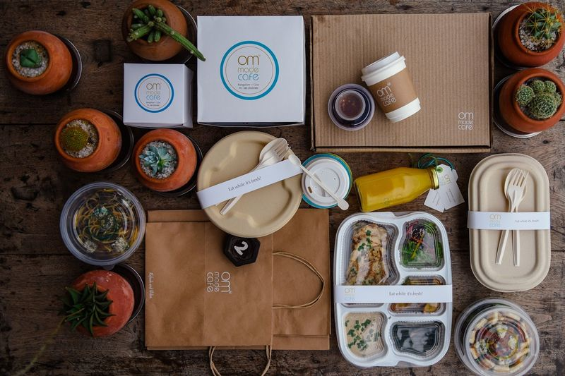 Bamboo-Based Cafe Packaging
