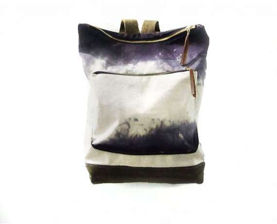 Ombre-Shaded Book Bags