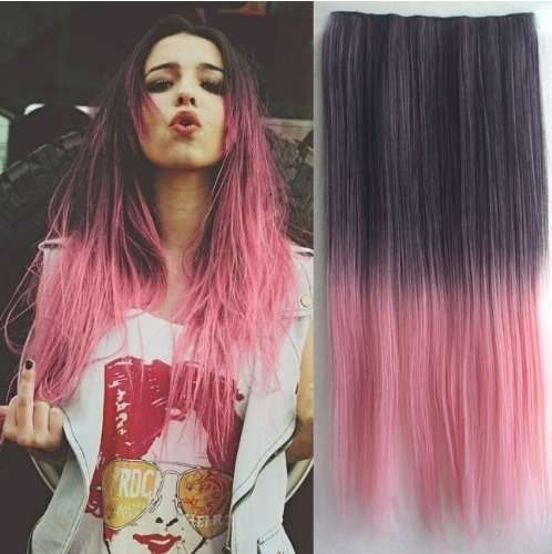 Two-Tone Hair Extensions