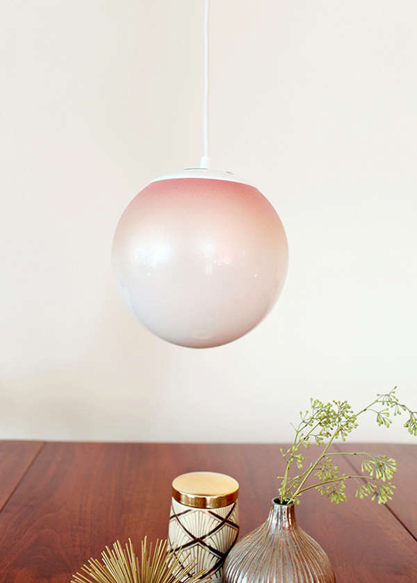 Diy Grant Lighting Ombre Pendant Lamp