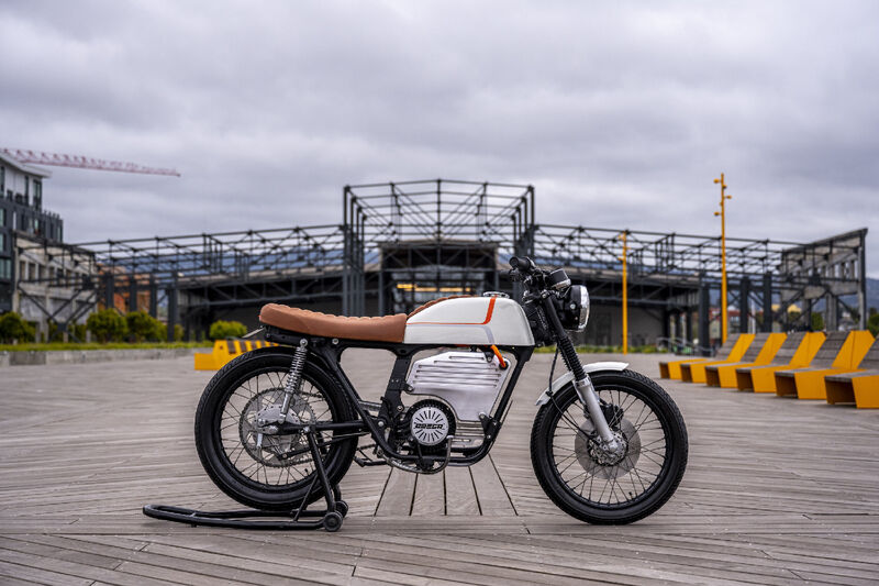 Retro Electric Motorcycles