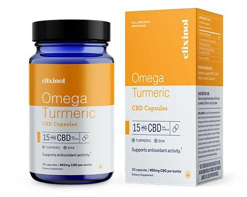Turmeric-Enhanced CBD Capsules