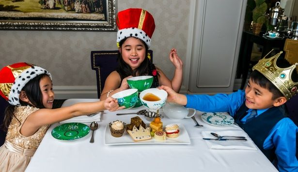 Kid-Friendly Tea Parties