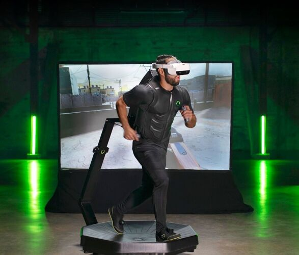 Home-Ready VR Treadmill Systems