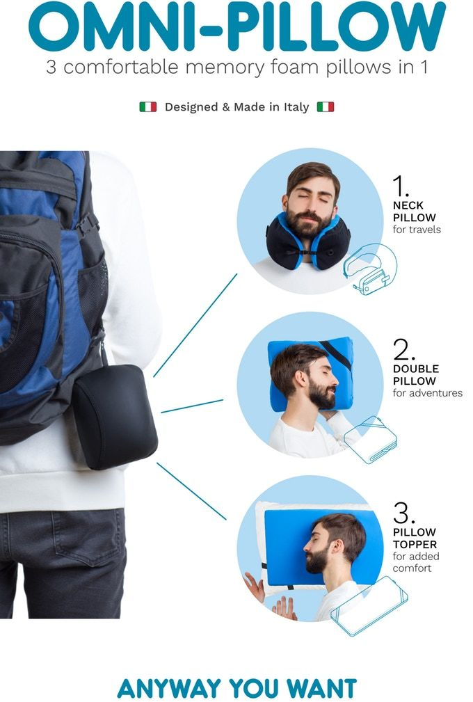 Versatile Travel Pillows