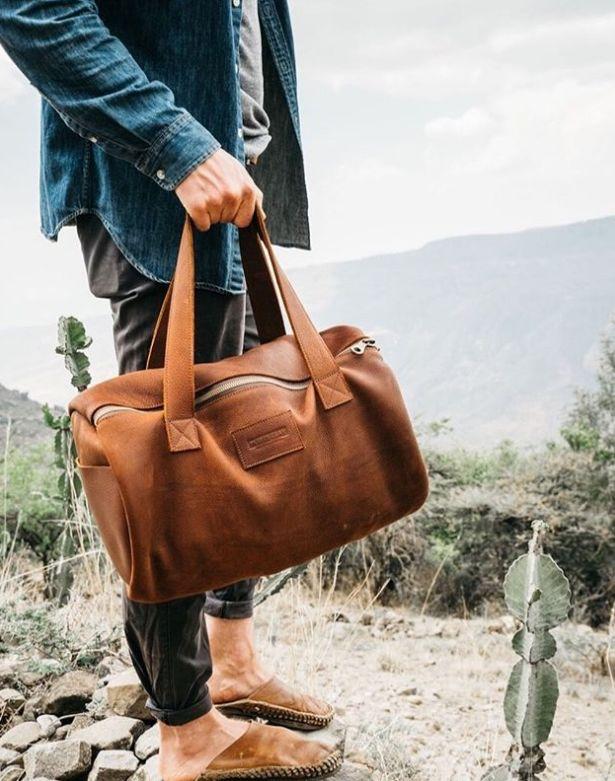Empowering Rustic Duffel Bags