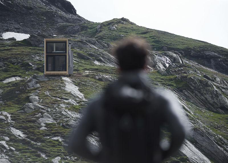 Branded Mountainous Eco-Cabins