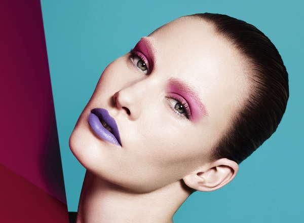 Mismatched Makeup Editorials