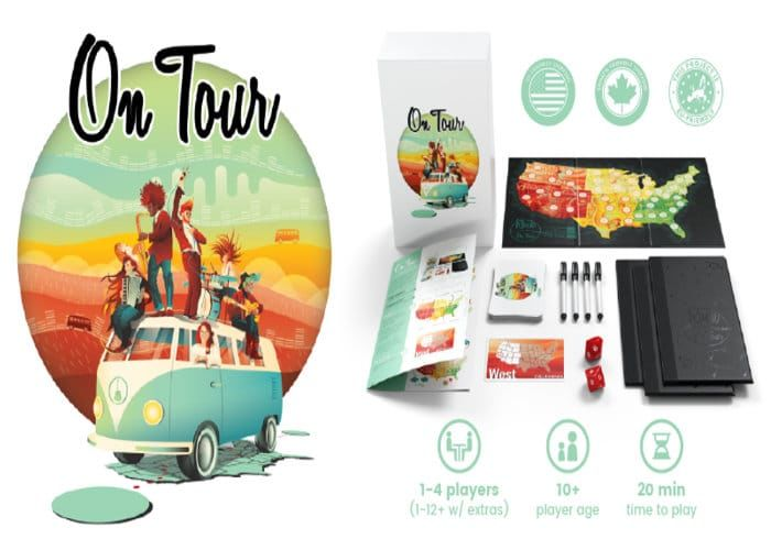 Road Trip-Themed Board Games