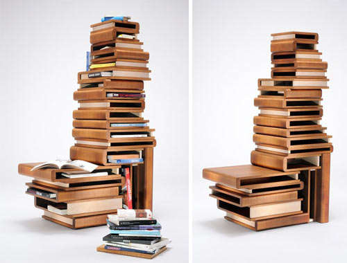 Book-Inspired Furniture
