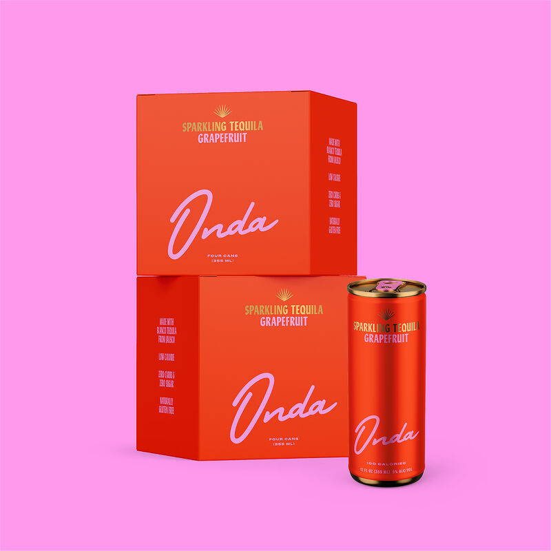 Celebrity-Branded Sparkling Tequila Cans